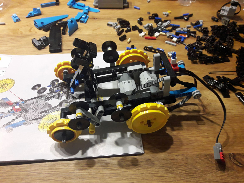 Die Antriebsräder
