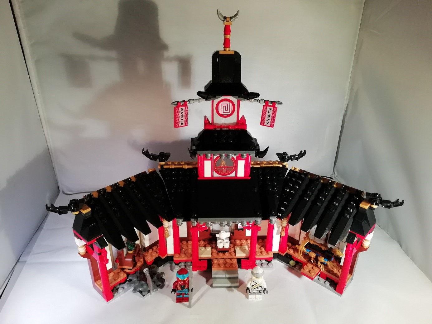Kloster mit Ninjaornamente