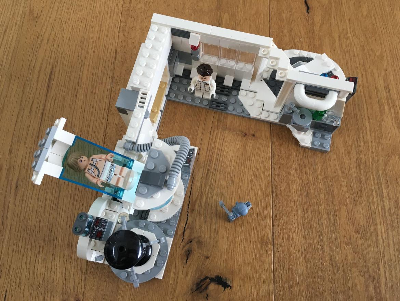 Hoth Medical Chamber mit Figuren