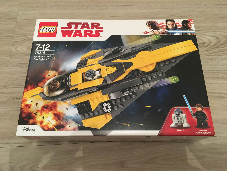 Anakins Jedi Starfighter Karton