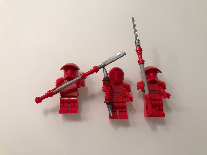 Elite Praetorian Guard Battle Pack rote figuren