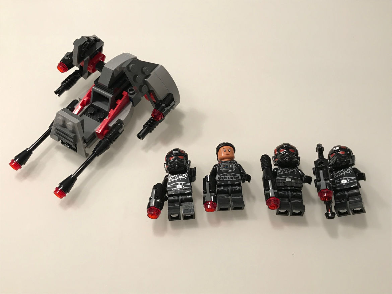 Inferno Squad fertiges Set