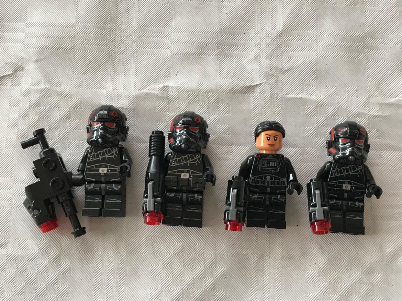Inferno squad Figuren mit Helm