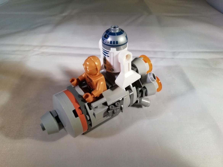 Escape Pod mit beiden Passagieren