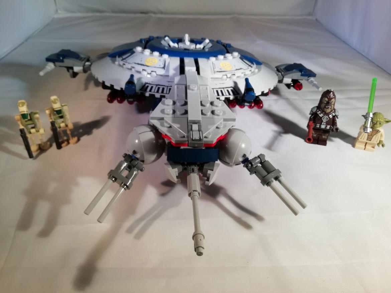 Das Gunship mit Minifiguren