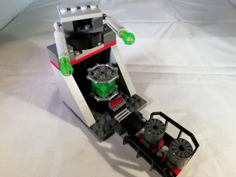 Bauschritt 1 Turbolaser
