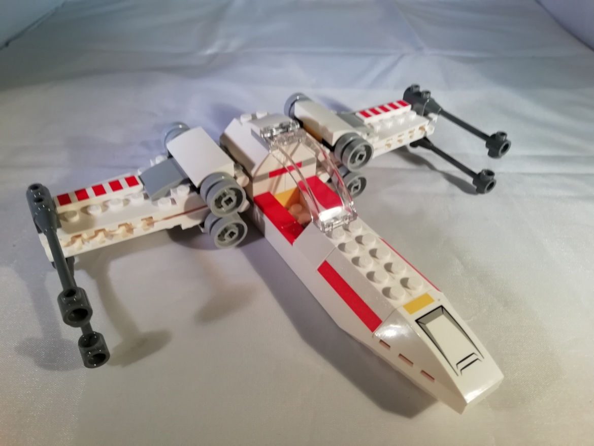Bauschritt 3 X-Wing Fighters