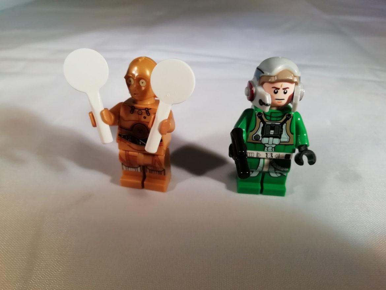 C3PO und A-Wing Pilot