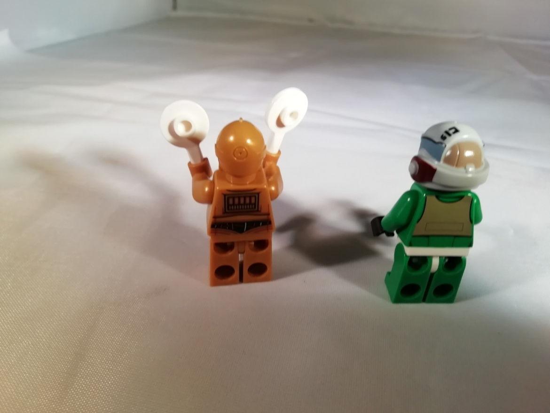 Rückansicht C3PO und Pilot
