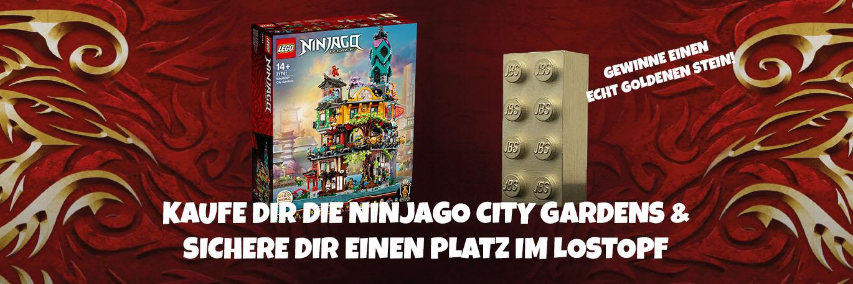 LEGO® 71741 Die Gärten von NINJAGO® City