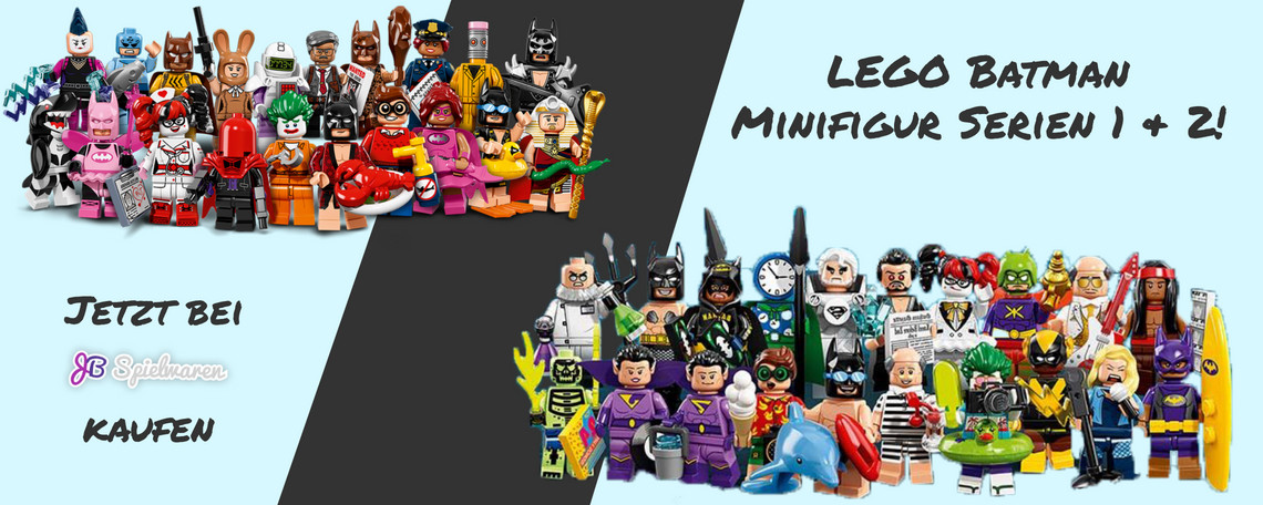Lego Batman Minifiuren Februar
