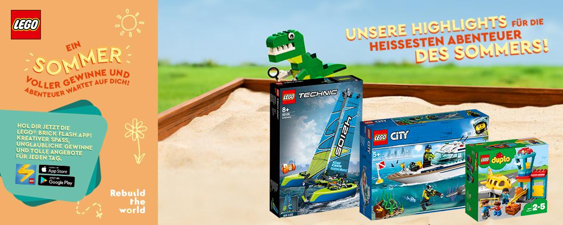 Sommerkampagne LEGO