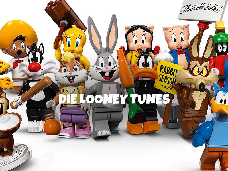 LEGO® 71030 Looney Tunes Minifiguren Serie 1 - 36 Figuren an 3 Aufhängern á 12 Stk.