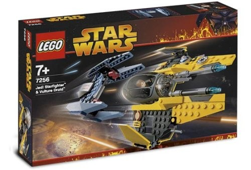 LEGO® Star Wars™™ 7256 Jedi Starfighter & Vulture Droid