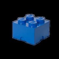 LEGO Aufbewahrungsbox, 4 Noppen, blau 001