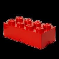 LEGO Aufbewahrungsbox, 8 Noppen, rot 001