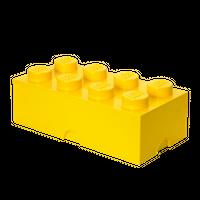 LEGO Aufbewahrungsbox, 8 Noppen, gelb 001