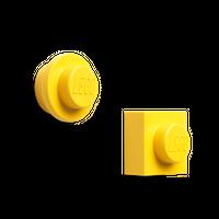 LEGO Magnet Set, Gelb