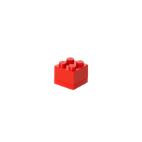 LEGO MINI BOX 4, rot