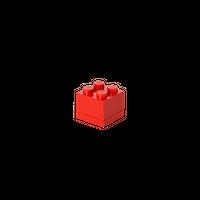 LEGO MINI BOX 4, rot 001