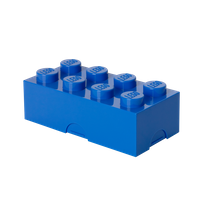 LEGO LUNCH BOX mit acht Noppen, blau