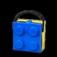 Bild LEGO Lunchbox mit Henkel, vier Noppen, blau Vorschau
