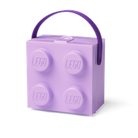 LEGO Lunchbox mit Henkel purple