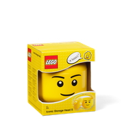 LEGO Aufbewahrungsbox, kleiner Kopf, Junge