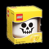 LEGO Aufbewahrungskopf groß, Skelett