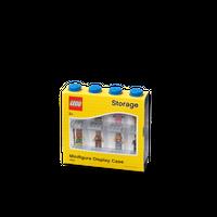 LEGO Minifiguren Display für acht Figuren, vier Noppen, blau