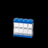 LEGO Minifiguren Display für acht Figuren, vier Noppen, blau -2 Vorschau