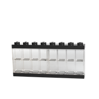 LEGO Minifiguren Display Case 16 (8 Noppen), schwarz -2 Vorschau
