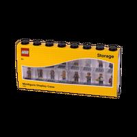 LEGO Minifiguren Display Case 16 (8 Noppen), schwarz 001