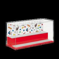 LEGO Display Box für Minifiguren, rot 001