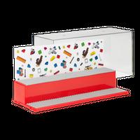 LEGO Display Box für Minifiguren, rot Vorschau