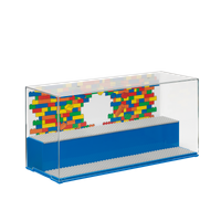 LEGO Display Box für Minifiguren, blau