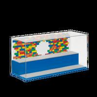 LEGO Display Box für Minifiguren, blau 001
