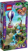 Tiger-Rettung mit Heißluftballon