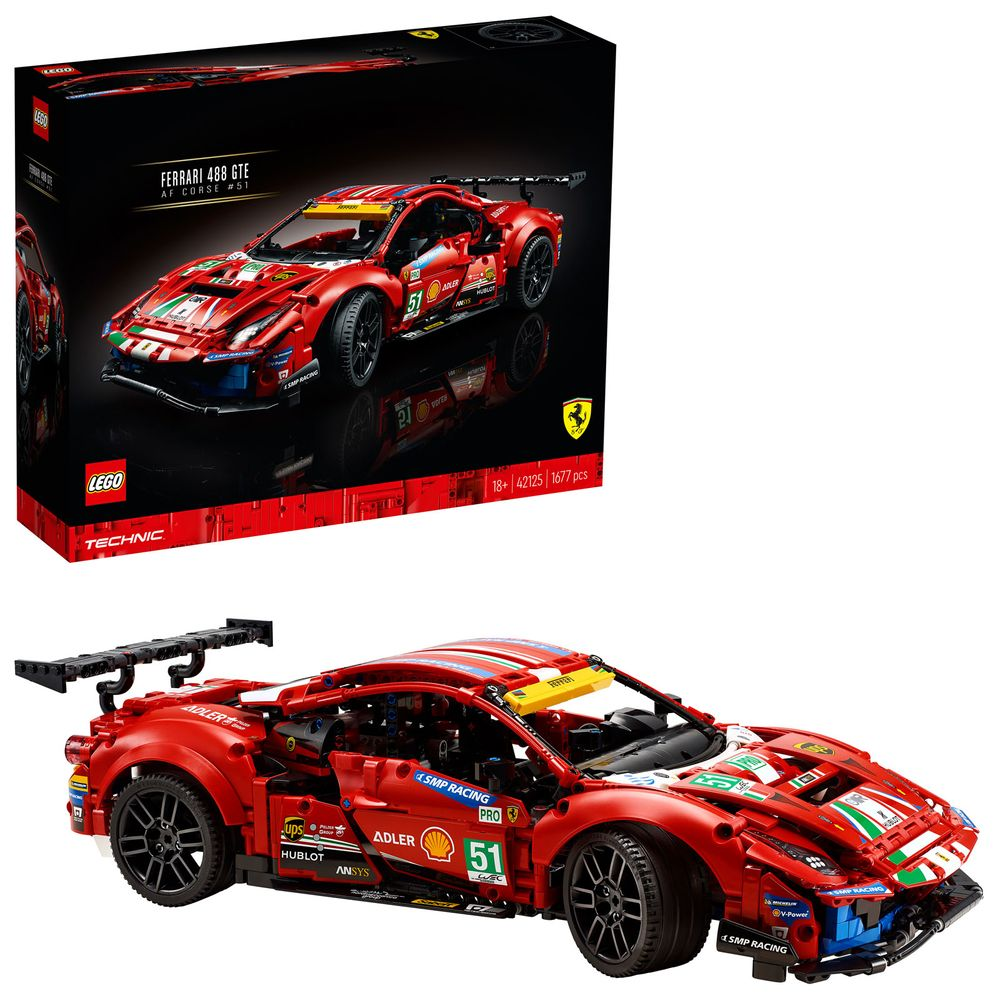 Lego 42125 Ferrari 488 Gte Jb Spielwaren