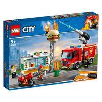 Feuerwehreinsatz im Burger-Restaurant 001