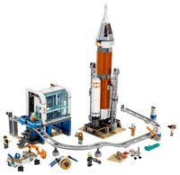 Weltraumrakete mit Kontrollzentrum -2 Vorschau