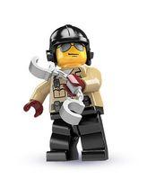 LEGO® Minifiguren 8684 Serie 2 Nr. 6: Verkehrspolizist 001