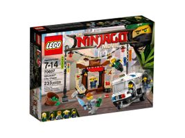 Verfolgungsjagd in NINJAGO® City