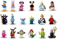 Minifigures Disney ganze Serie 001