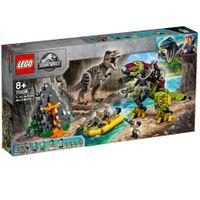 T-Rex vs. Dino-Mech 001