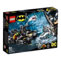 Batcycle-Duell mit Mr. Freeze