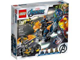 Avengers Truck-Festnahme