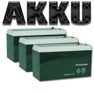 Akkupack 36V 15AH für E-City-Roller