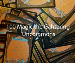 100 Magic the Gathering UNCOMMONS ! MTG ! Sammlung LOT