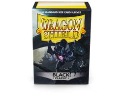 100 Dragon Shield Black Sleeves / Hüllen (schwarz)